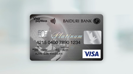 Baiduri Visa Platinum Credit Card